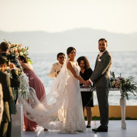 Destination weddings | sunset Beach wedding
